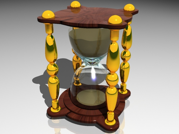 ... ,sand timer sand clock, (.max) 3ds max software Miscellaneous Items