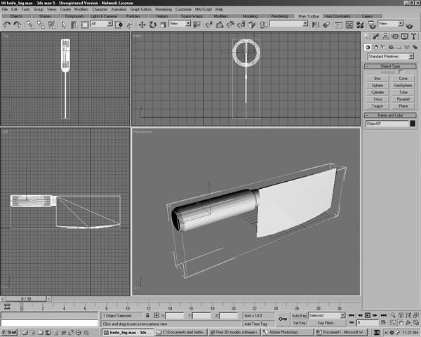 Butcher Knife Software Applications Design 3ds 3d Studio Software Household Items