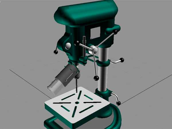 Drill Press Design Software Downloads 3ds 3d Studio Software Miscellaneous Items