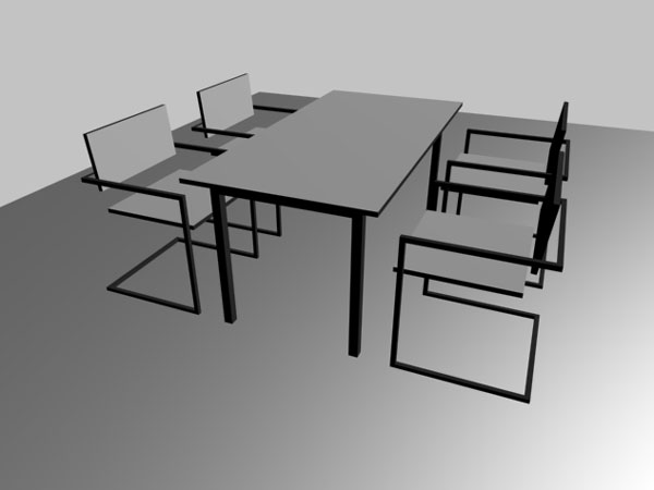 Office Business Interior Furniture Meting Room 3ds 3d