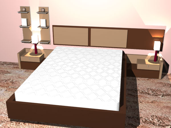Matrimonio Bed Size : Habitacion matrimonio furniture matrimonial ds d