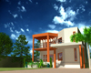Peshawar university house residence, (.3ds) 3D Studio Max