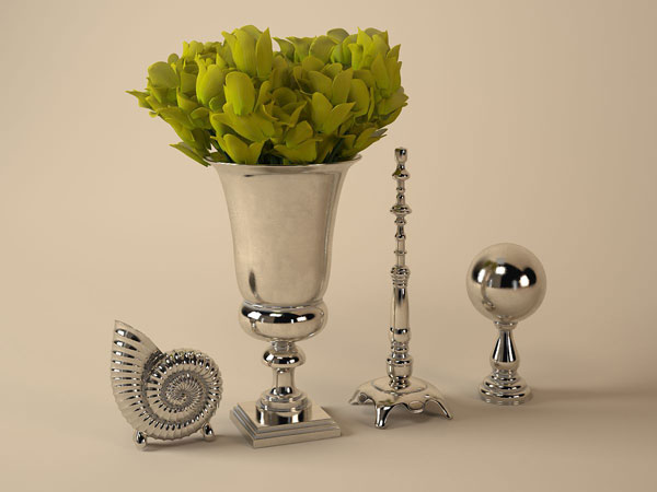 Table decoration restaurant accessories 3ds 3d studio for 3d decoration models