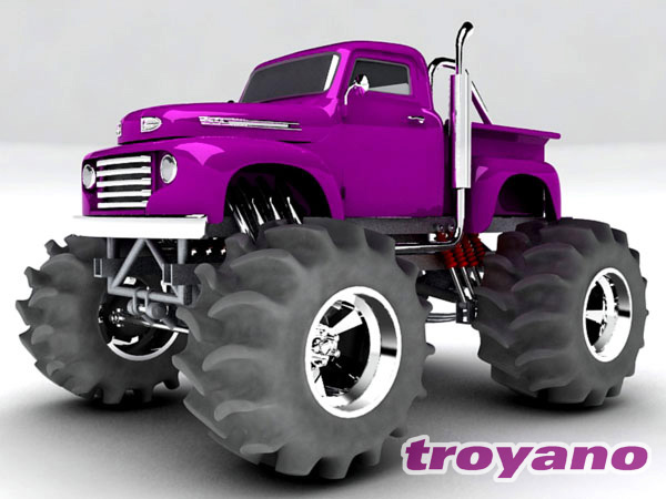 Ford pick up monster truck design max 3ds max software for Truck design software