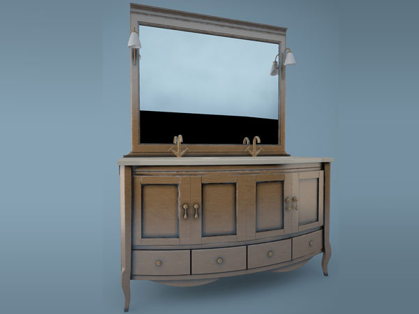 Washstand Home Furniture Bathroom Fixtures Max 3ds Max Software Household Items