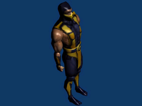 mortal kombat scorpion. Mortal Kombat 4: Scorpion MK4