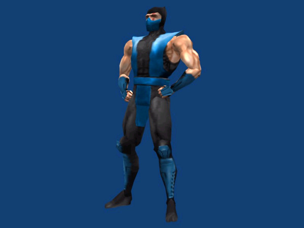 sub zero. Sub-zero MK4 video game
