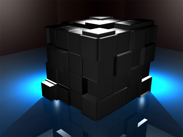 ... Cube 3D Small Poly Model, (.max) 3ds max software Miscellaneous Items