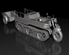 Desert Crawler vehicle bulldozer metal plates, (.max) 3ds max.