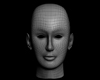 Head human being person character skull, (.max) 3ds max.