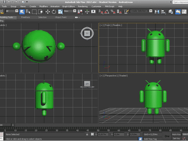 Android max logo 3ds 3d studio max software for 3d studio max download