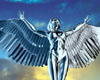 Angel flying wings woman character (.max) 3ds max