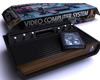 Atari 2600 video game console microprocessor, (.max) 3ds max
