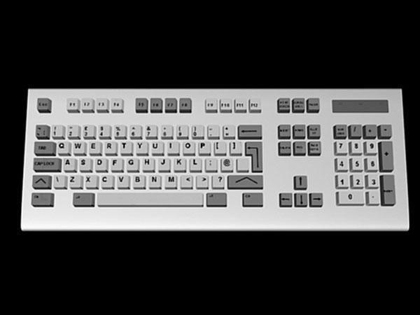 ... Keyboard IBM Model, (.3ds) 3D Studio Max software Technology Objects