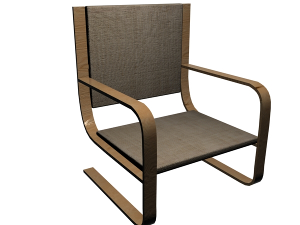 Modern Chair Office Furniture Design Home Seat Max 3ds