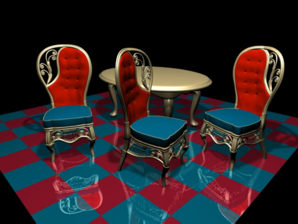 Household Items Vers, Classic Modern, Table Standard Leather Chairs  Archetypal Rocking Chairs Old Stile