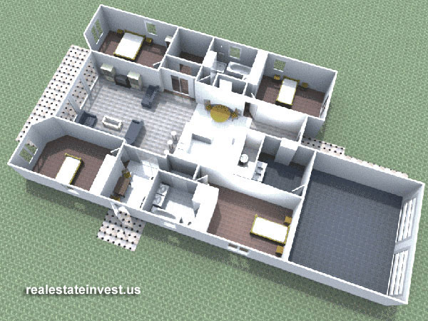 Convertible duplex house floorplan obj obj software architecture objects ed flat illustration sale finishing rooms architecture malvernweather Images