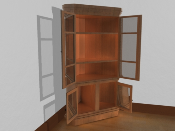 Cupboard Models : Household Items rafted out of wood suit every home, from traditional ...