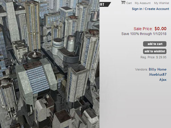 Dystopia City Blocks DAZ3D (Poser), Other software