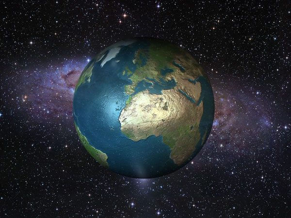 Earth planet solar system, (.3ds) 3D Studio Max software ...
