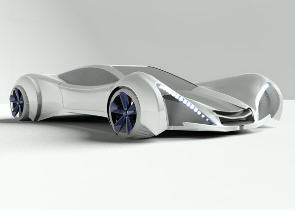Future car evolution design, (.max) 3ds max software ...