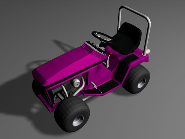 grass lawn mowing lawnmower 3ds 3d studio max software. Black Bedroom Furniture Sets. Home Design Ideas