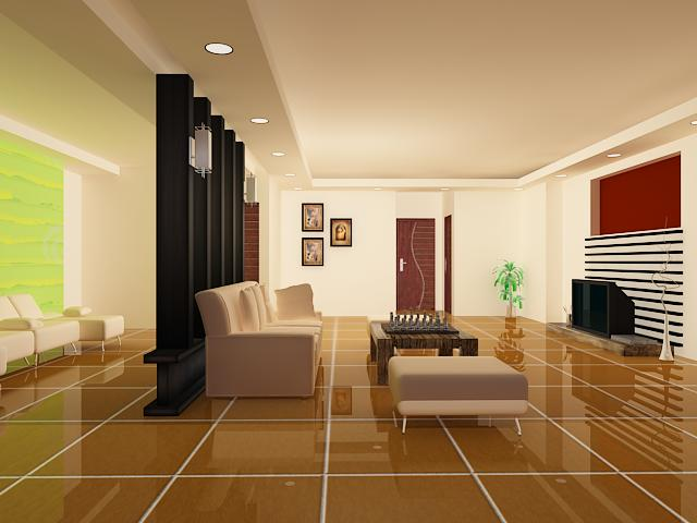 New house model interior furniture scene max 3ds max for The model house