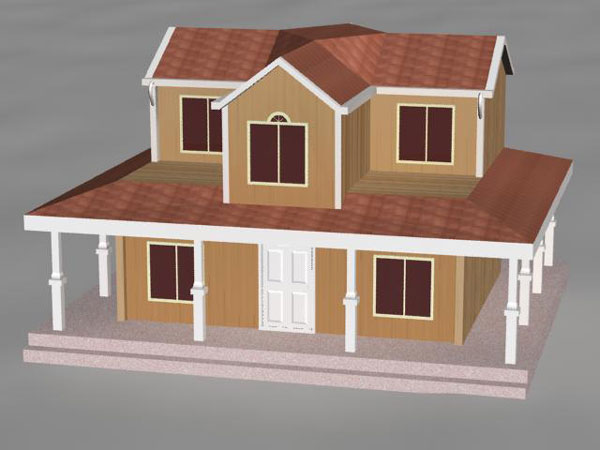 exterior house designs 3d max. Architecture Objects front  house wood cedar shingle colonial rural Colonial architectural style max 3ds software