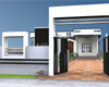 One storey house, residential property, Architecture Objects, (.max) 3ds max