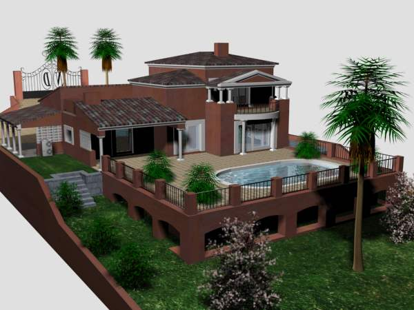 Model house 3ds max free