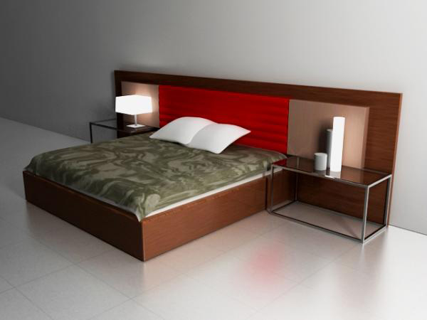 Interior bedroom design max 3ds max software for Model bedroom interior design