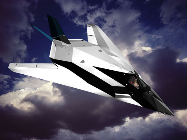 ... STEALTH Fighter Patent 1993, (.max) 3ds max software Military Objects