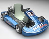 Go-Kart motor sports race carting, (.max) 3ds max