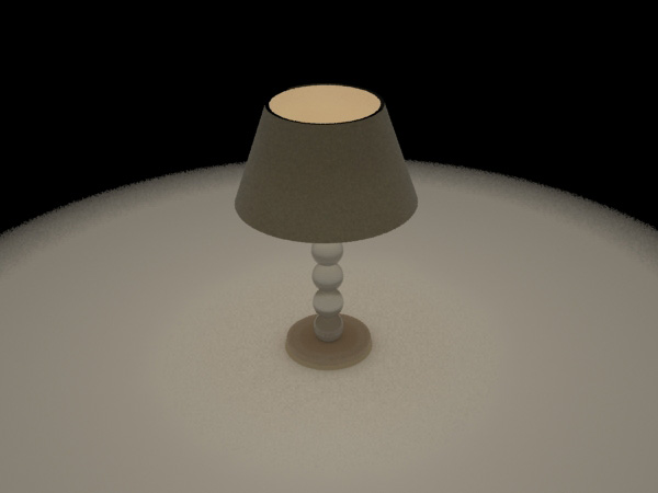 Light lamp table electric home decoration max 3ds max for Table lamp 3ds max