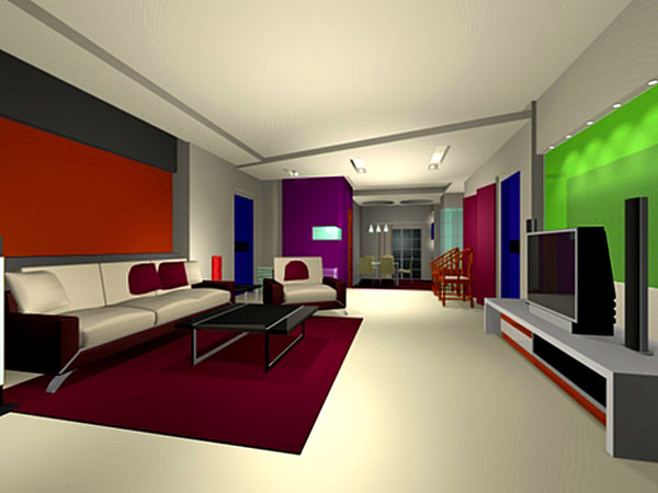 Interior Design Decoration Furniture Home Office 3ds 3d Studio Software Architecture Objects