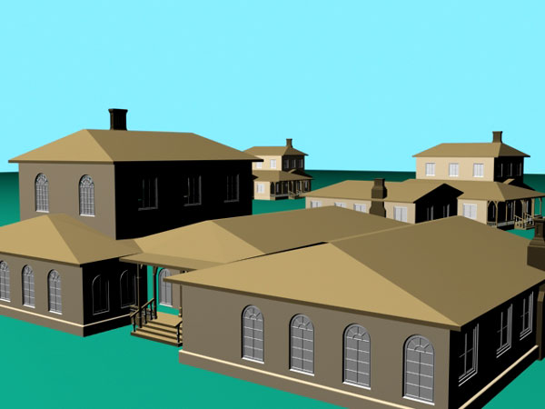 Luxury villa mansion house 3ds 3d studio max software for Software to model a house