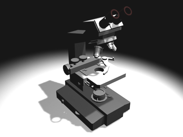 ... science application, (.3ds) 3D Studio Max software Technology Objects