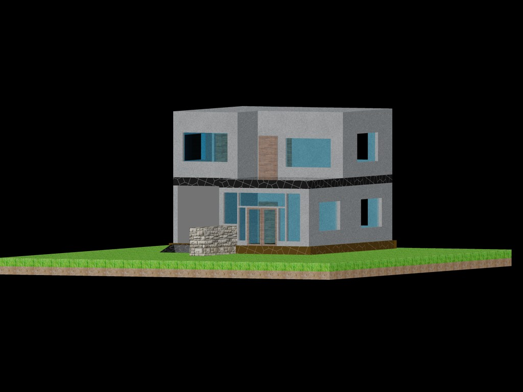 Perfect Family House Dwg Dxf Autocad Household Items 3d Download Free