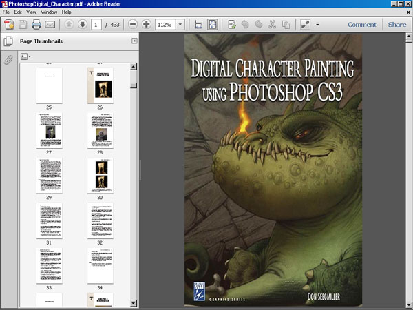 Character Design Tutorials Pdf : Photoshop cs digital character painting ebook file