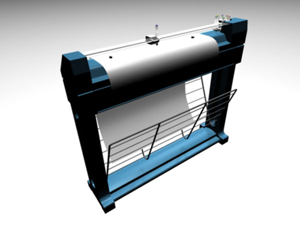 Wide Format Plotter And Printer, ( 3ds) 3D Studio software