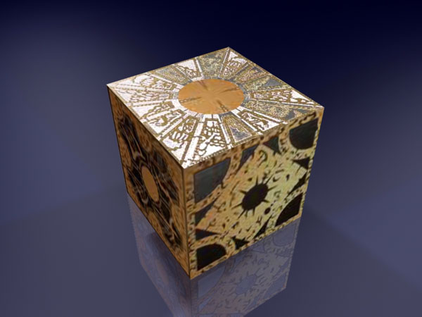 Movable Hellraiser Puzzle Box Max 3ds Max Software
