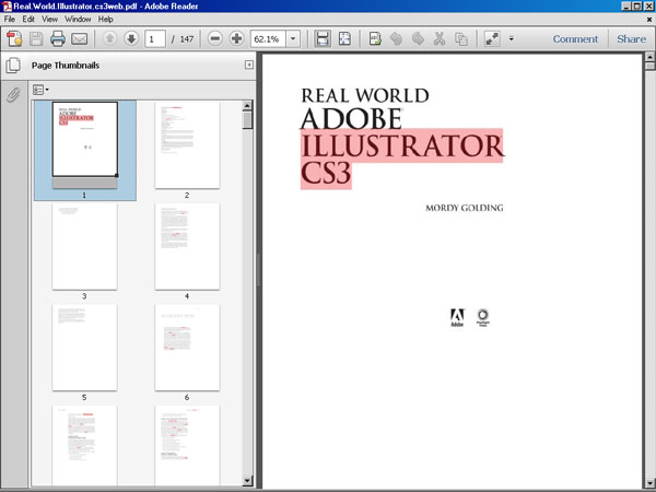 Adobe illustrator cs3 ebook