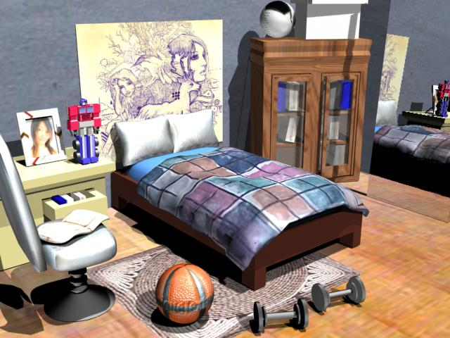 Home furniture modern house room accessories max 3ds max software architecture objects Model home furniture and accessories
