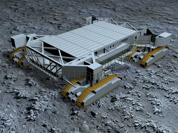 Space crawler NASA equipment, (.max) 3ds max software ...
