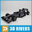 Williams F1 race auto racing car (.max) 3ds max Transportation
